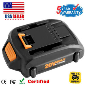 2-0Ah-20V-Max-Lithium-Battery-For-Worx-WA3520-WA3525-WA3578-WG163-WG151s-WG155s