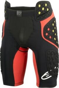 Pantaloncino-con-protezioni-Alpinestars-Sequence-Pro-Shorts-black-red