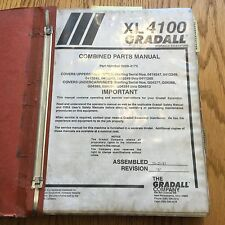 Gradall Xl4100 Excavator Parts Manual Book Catalog Guide List Telescopic Backhoe
