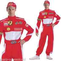 Mens F1 Racing Car Driver Sports Themed Stag Do Fancy Dress Costume Outfit