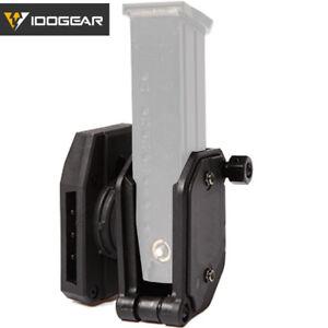 IDOGEAR-Magazine-Pouch-Mag-Holder-IPSC-USPSA-IDPA-Pistol-Competition-Multi-Angle