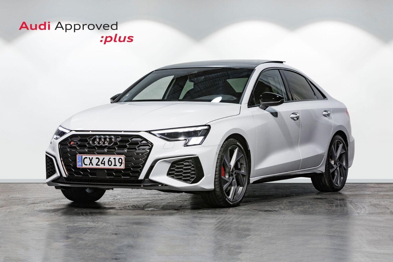 Audi S3 2,0 TFSi quattro S-tr. 4d - 724.900 kr.