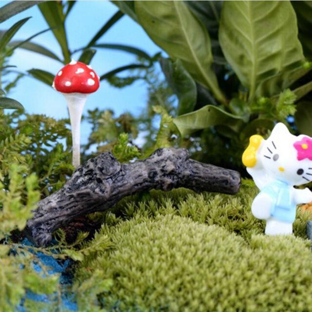 Dry Tree Branch Garden Mini DIY Terrarium Accessories Micro Landscape Decor  Gn