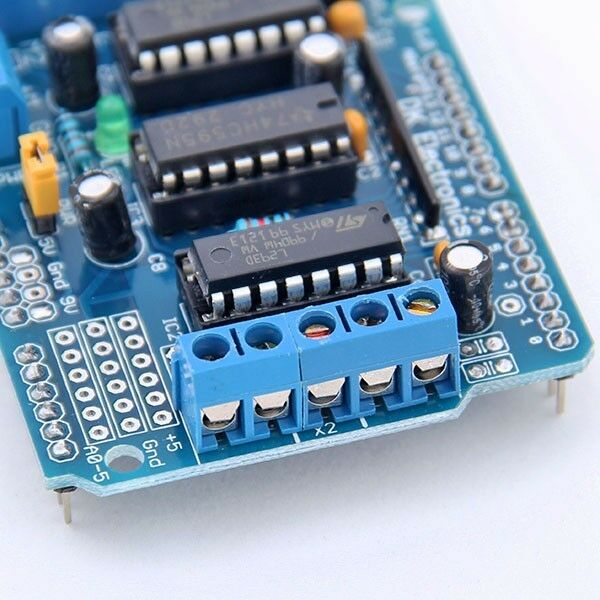 For Arduino Mega UNO Duemilanove KD L293D Motor Drive Shield Expansion Board