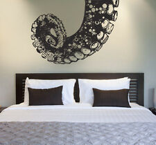 Vinyl Wall Decal Sticker Bedroom Pattern Damask Octopus Tentacles Kraken r1578