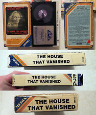 Beta/Betamax: The House That Vanished: MEDIA 1978 rare meda orange