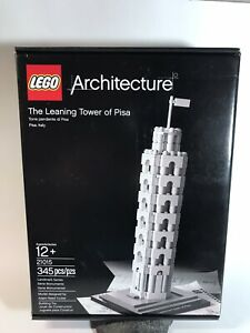 LEGO 21015 The Leaning Tower of Pisa Architecture Landmark ...