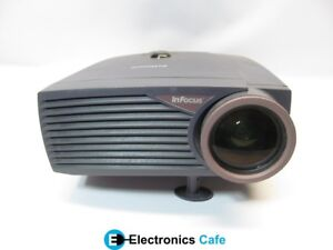 InFocus-LP425Z-400-1-900-Lumens-DLP-Video-Projector-w-Lamp-No-Remote