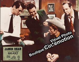 Photo-Glacee-Prestige-Cinema-30-5x37-5cm-1956-GEANT-GIANT-James-Dean-Hudson