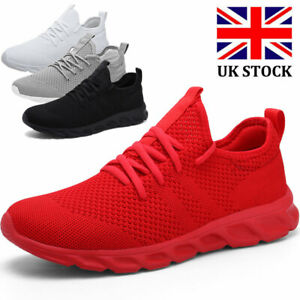 Men's Athletic Running Trainers Casual Sports Tennis Sneakers Fitness Gym Shoes