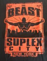 The Beast Brock Lesnar Suplex City York Go To Hell Tour Shirt S Wwe Wwf Ufc