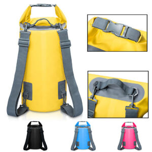 343452db6f80 5-20L Sports Waterproof Dry Bag Backpack Pouch Float Boat Kayak ...