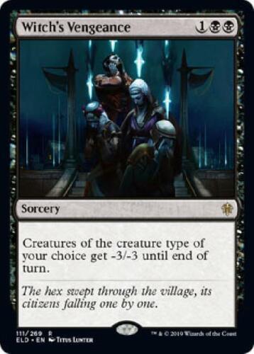 2x Witch/'/'s Vengeance 111//269 Near Mint MTG Throne of Eldraine