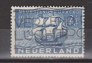 NVPH-Netherlands-Nederland-nr-268-gest-used-1934-Curacao-Pays-Bas
