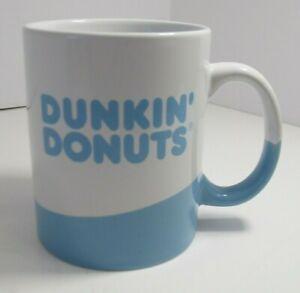 Dunkin' Donuts Coffee Mug Tea Cup Blue and White Logo Wave ...