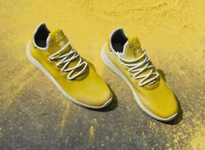 d172602d3 Adidas Mens PW HU HOLI Tennis Hu Parrel Williams Yellow white DA9617 ...