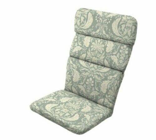 Artsy Green Damask Adirondack Cushion Outdoor Patio Dining Thick Chair Cushions
