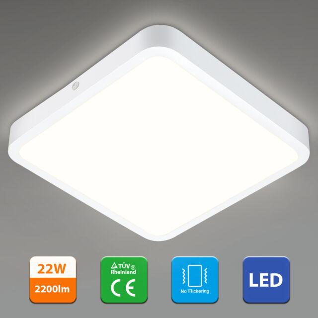 "8"" 22W LED Deckenleuchte Quadrat Design Wandlampe Flurleuchte Wohnzimmer Büro DE"
