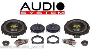Audio-System-X-200-BMW-MK2-X-ION-SERIES-3-Wege-Teil-Aktiv-Front-System