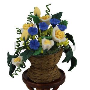 Beautiful Sunflower cluster 1//12 Scale Dolls house Miniature decoration Flower