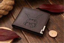 Genuine Quality Leather Wallet - Digimon Guilmon