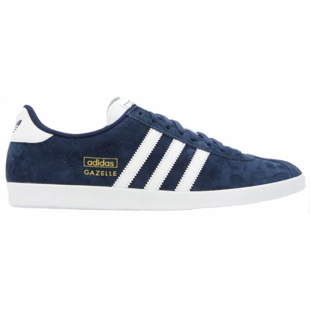 adidas Originals Mens Suede Gazelle OG Trainers in Navy Blue. UK 8.5 Q21600