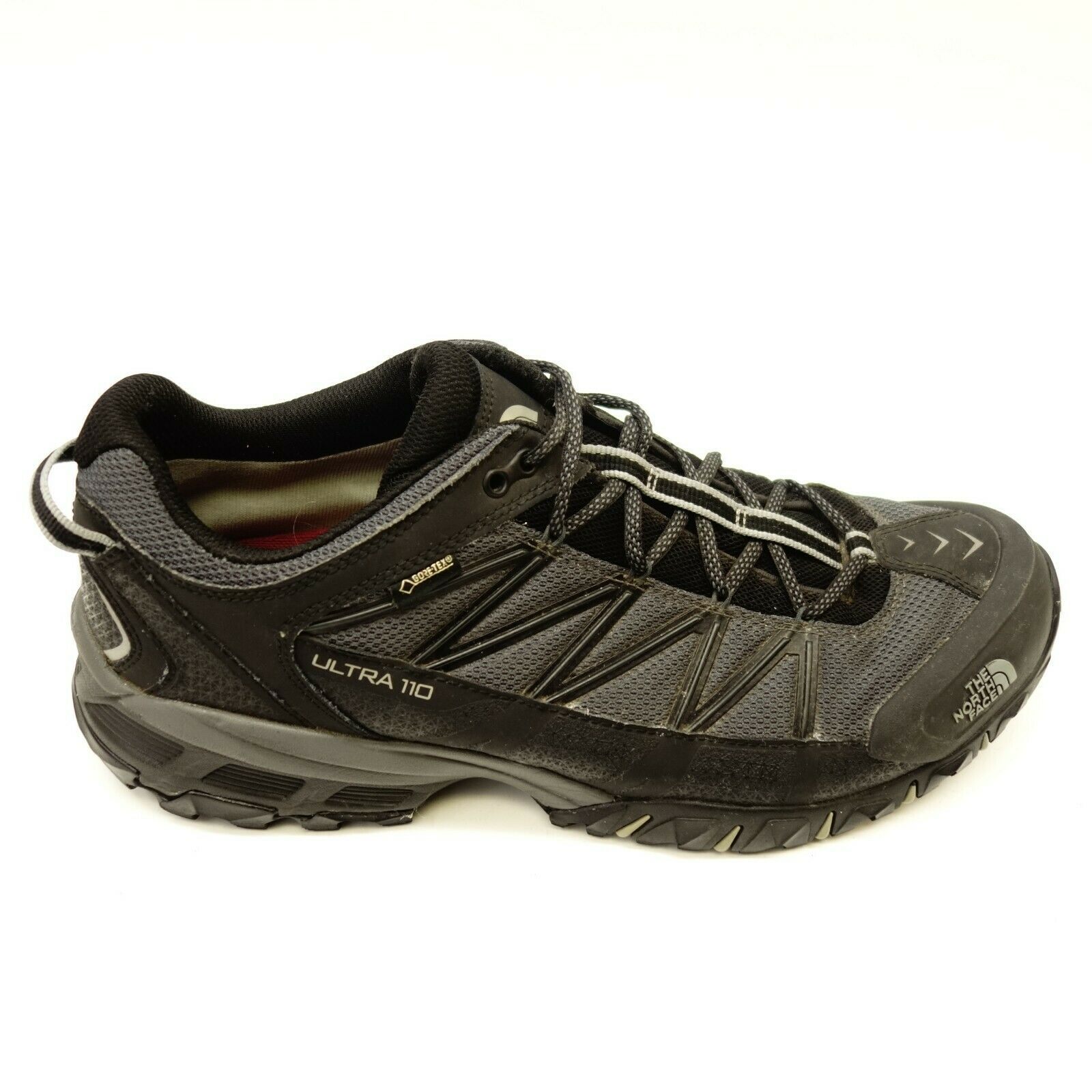 8ad5803c2b North Face Mens Size 11.5 Ultra 110 GTX Blk Athletic Support Trail Hiking  shoes