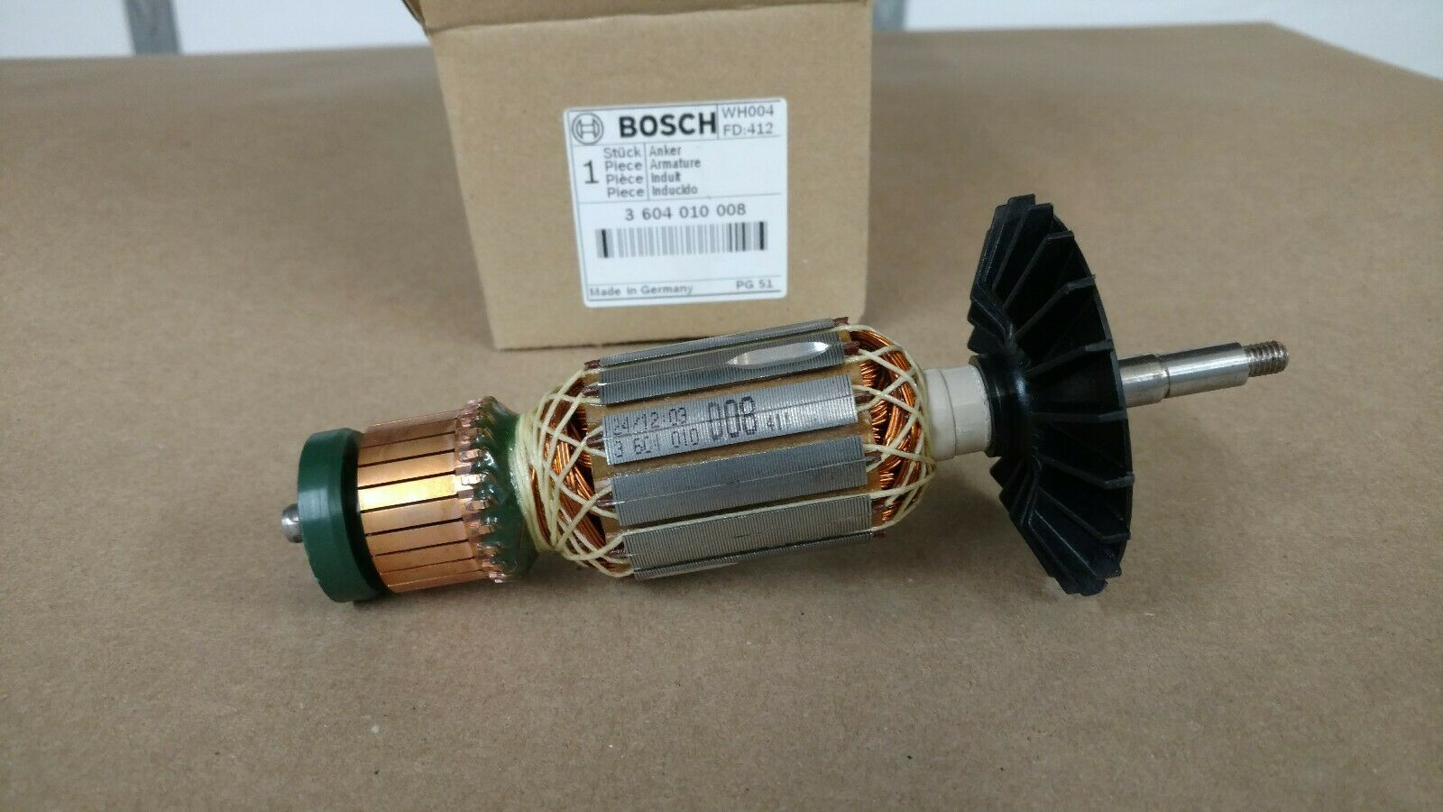 3604010008 Armature  Genuine BOSCH-SKIL-DREMEL spare-part