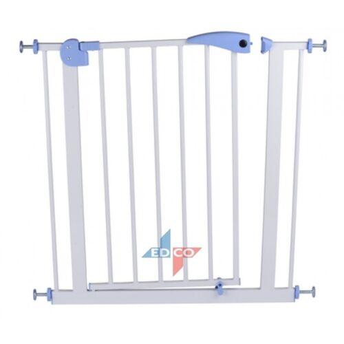 Türschutzgitter 75 - 85 x 79 cm Absperrgitter Gitter Kindergitter Treppengitter