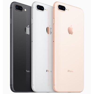 Apple iPhone 8 Plus 32GB 128GB 256GB AT&T Universal Unlocked AT&T Verizon Sprint