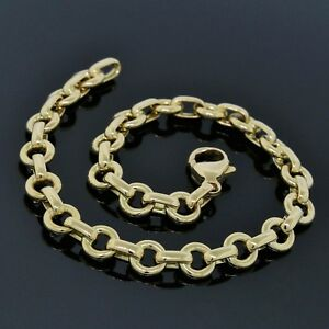 Tiffany & Co  18K Yellow Gold Oval & Round Link Chain