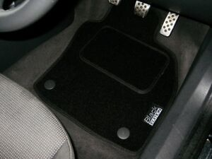 Perfect Fit For Audi A8 LWB 2003-2009 Anthracite Car Mats with Black Trim