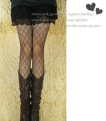 Sexy Women Multi-Patterns Black Fishnet Jacquard Net Pantyhose Tights Stockings
