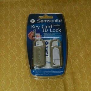 Samsonite-Travel-Accessories-Set-di-2-chiusure-con-Key-Card-Nuovi