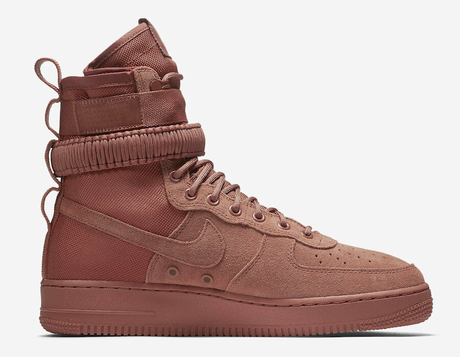 Nike MEN'S SF AF1 Air Force 1 Dusty Peach SIZE 12 BRAND NEW