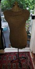 Vintage Antique Singer Size A Adjustable Mannequin Metal Stand Dress Form
