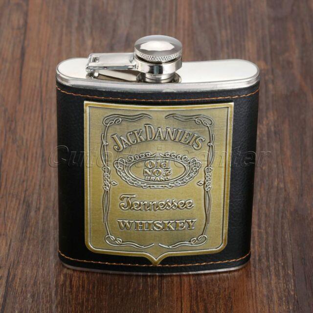 1PC Stainless Steel Liquor Hip Flask Gift Whiskey Alcohol Wine Flagon Bottle