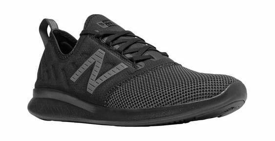 New Balance Men's FuelCore Coast v4 Running Sneaker Black Magnet Sneakers