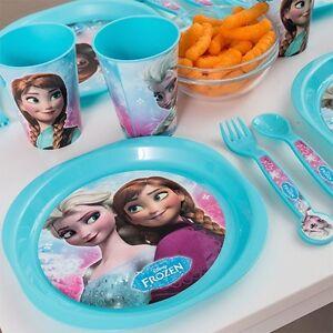 Image is loading Disney-FROZEN-dinnerware-set-ELSA-ANNA-Olaf-Girl-  sc 1 st  eBay & Disney FROZEN dinnerware set-ELSA-ANNA-Olaf/Girl/Best Gift/16 Pc ...