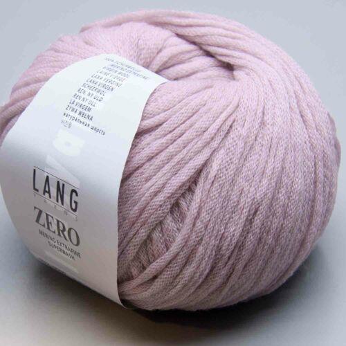 Needle Thickness 4-4,5 Ll 120m//50g Lang Yarns Zero 9