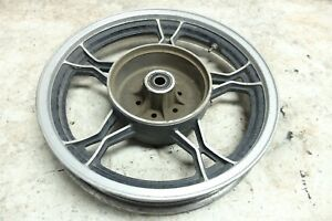 Details about 83 Suzuki GS 750 GS750 T rear back wheel rim straight