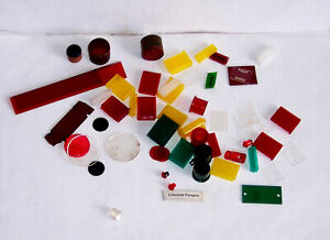 Control - Coloured Clear Perspex / Plastic – Useful For Panels Etc. – Notes/pics