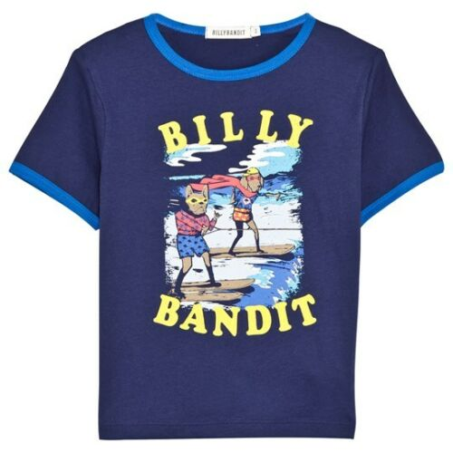 BILLYBANDIT Billy Bandit boys Short Sleeved T-Shirt Medieval Blue BNWT