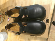 Doc Martens Polley T-Bar Ladies Shoes / Mary-Jane's - Black, Size UK 5