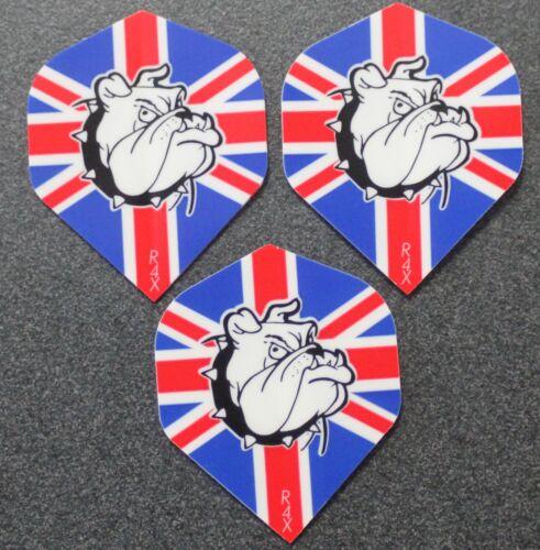 British Bulldog 10 Packets of Brand New Ruthless Extra Strong Darts Flights