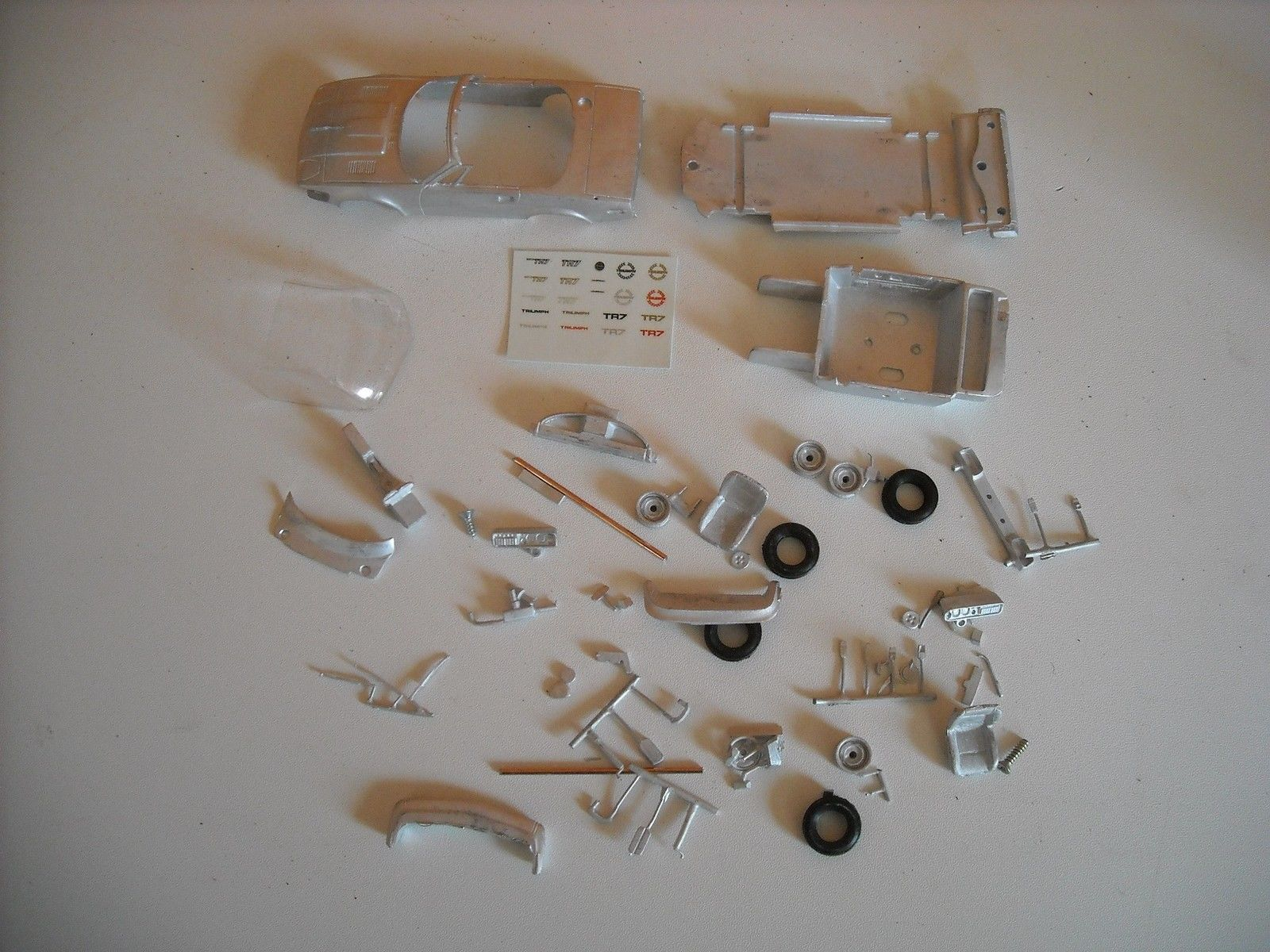 Triumph TR7 or TR8 DHC drop head coupe in 1 43rd scale by K & R Replicas