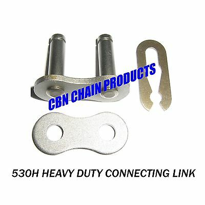 Motorcycle 530 Drive Chain Master Link Connecting Link For Harley Triumph Honda