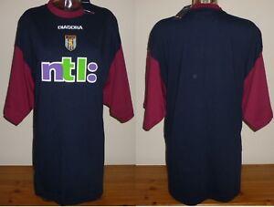 0e0b26bc821 Aston Villa 2000 01 Training tee BNWT Player issue No 3 DIADORA NTL ...