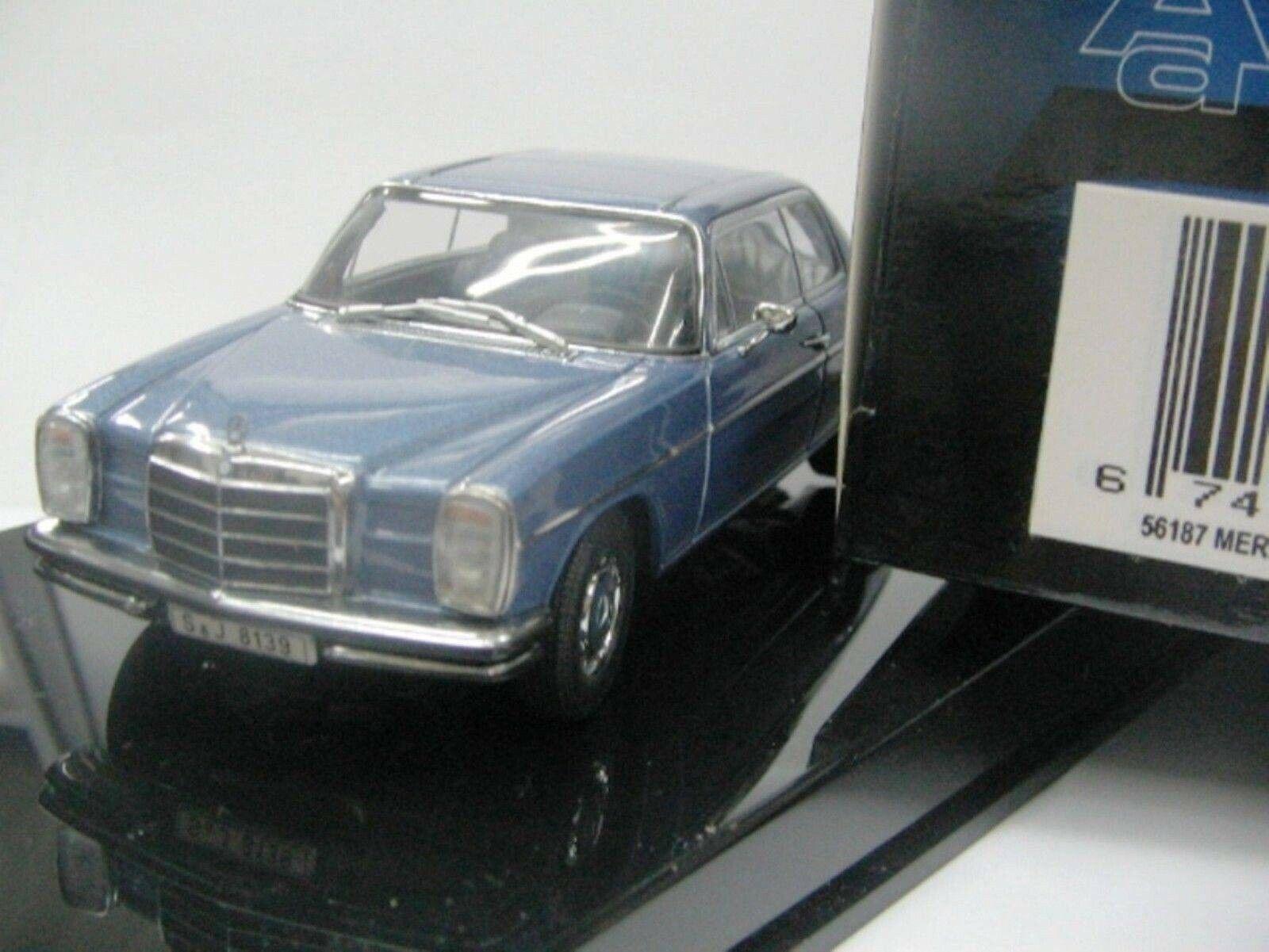 Wow extrêmeHommest rare MERCEDES W115 8 280  C bleu 1 43 Auto Art-200 W114 Minichamps  promotions d'équipe