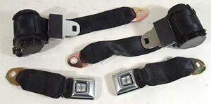78-82-Corvette-Black-Lap-and-Shoulder-Seat-Belts-single-retractor-41415